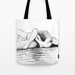 sex by the sea Tote Bag