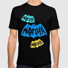 Martha MEDIUM Black Mens Fitted Tee