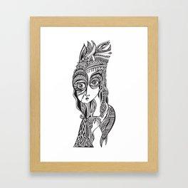 Complicated explantion Framed Art Print
