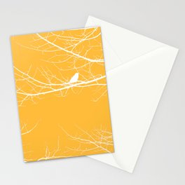 The Lonely Bird in the Tree III Stationery Cards