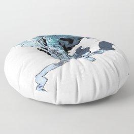 Sleepless Blues Floor Pillow