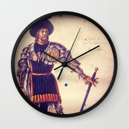 The Duke Wall Clock