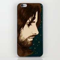 aragorn iPhone & iPod Skins featuring Aragorn by cos-tam