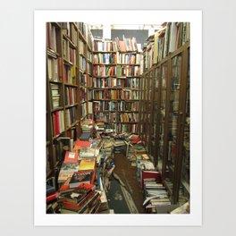 Dusty Book Store Art Print