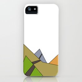 A Mountain Stroll iPhone Case