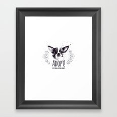 Adopt Framed Art Print