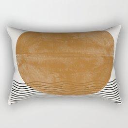 Sun and the water Rectangular Pillow