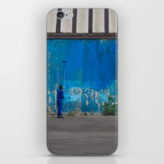Paint it blue iPhone & iPod Skin