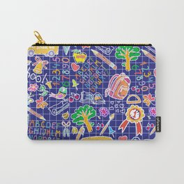School teacher #7 Carry-All Pouch
