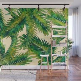 Palms #palm #palms #flower Wall Mural