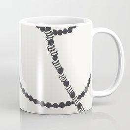 Beaded Garland With Tassels Coffee Mug