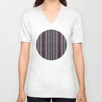 baroque V-neck T-shirts featuring Baroque lines by Tony Vazquez