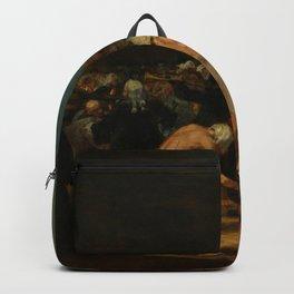 "Francisco Goya ""Los disciplinantes (A Procession of Flagellants)"" Backpack"