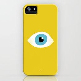 eye open iPhone Case