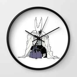 The Hollow Knight and the Little One Wall Clock