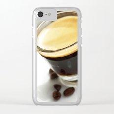 Espresso Maritim Clear iPhone Case