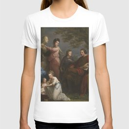 Angelica Kauffman - The Family of the Earl of Gower (1772) T-shirt