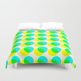 dots pop pattern 3 Duvet Cover