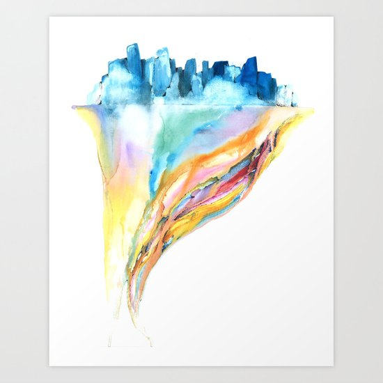 System #12: Viemny Art Print