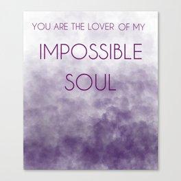 Sufjan Stevens Impossible Soul Canvas Print