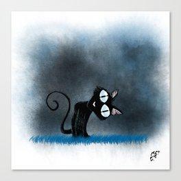 Coraline Wuss Puss Canvas Print