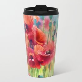 Poppy Parade Travel Mug