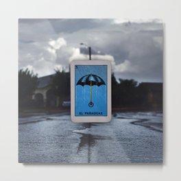 El Paraguas Metal Print