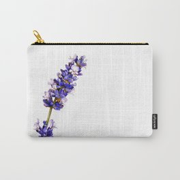 Mediterranean Lavender on White Carry-All Pouch