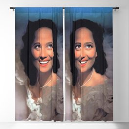 Merle Oberon, Actress Blackout Curtain