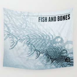 Fish And Bones Wall Tapestry