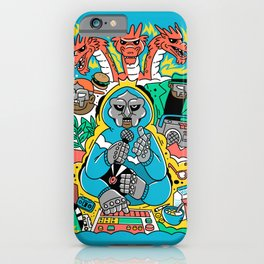 MF DOOM & Friends iPhone Case
