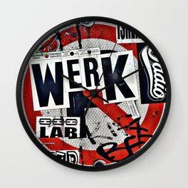 WERK Wall Clock
