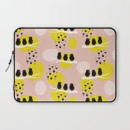 The Finch Clique - Peach Laptop Sleeve