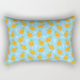 Funny Pineapples Rectangular Pillow