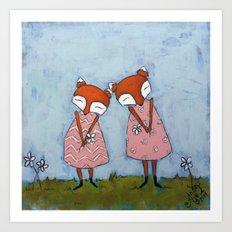 Best Sisters Art Print