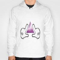 illuminati Hoodies featuring illuminati by StraySheep