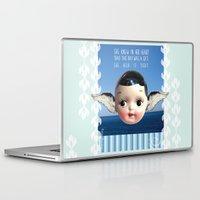 glee Laptop & iPad Skins featuring ocean glee  by Kelli May-Krenz