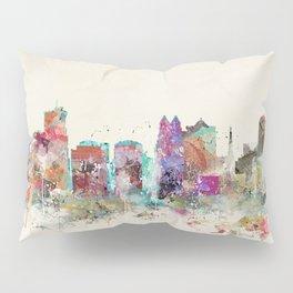 orlando florida skyline Pillow Sham