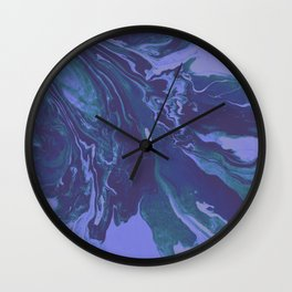 Mermaid Marble Wall Clock