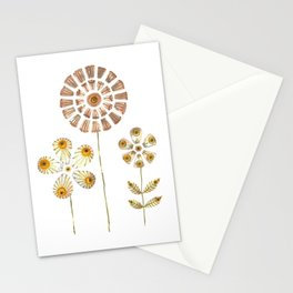 Daisy Flowers Stationery Cards