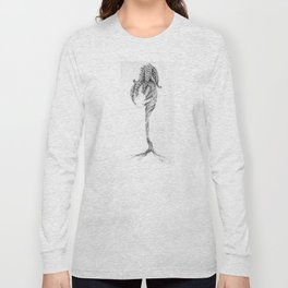 Pearl Holder (part of the Strange Plants series) Long Sleeve T-shirt