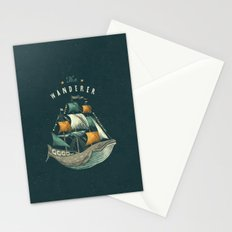 Whale | Petrol Grey Stationery Cards