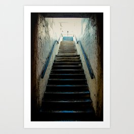 Eroded Staircase 1 Art Print