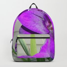 Purple Gladiola Backpack