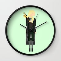 legolas Wall Clocks featuring Legolas by LOVEMI DESIGN