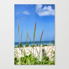 Relaxing on the Beach Canvas Print