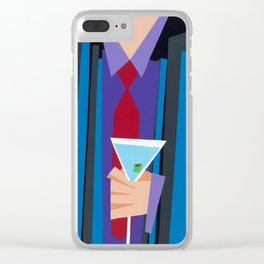 Suite and Tie Clear iPhone Case