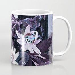 Temple of Flora UltraViolet Mauve Blue Coffee Mug