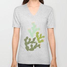 Prickly Pear Cacti Unisex V-Neck