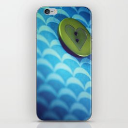 button iPhone Skin